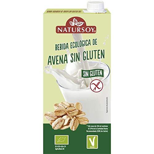 Bebida avena sin gluten Natursoy 1L: Amazon.es: Alimentación ...