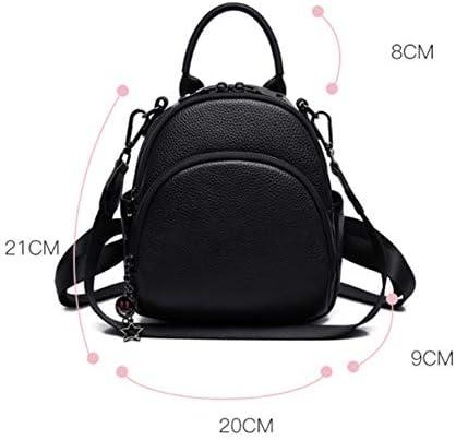 Sac à dos en cuir Sac à bandoulière Casual Messenger Bag Mode féminine Version coréenne du sac à main Wild Student Bag