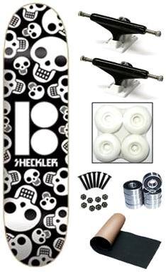 Plan B Ryan Sheckler Repeat Skulls Complete Skateboard