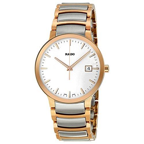 Rado-Centrix-Quartz-Two-Tone-Stainless-Steel-Mens-Watch-R30554103