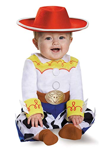 Disney Baby Girls' Jessie Deluxe Infant Costume, Multi, 12-18 Months (Big Baby Toy Story)