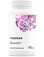 Thorne Research - ResveraCel - Supports Healthy Aging with Nicotinamide Riboside, Resveratrol, Quercetin, and Betaine Anhydrous - 60 Capsules