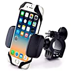 Cheap YBM Tech Universal Premium Phone Mount for Bike or Motorcycle, Fits iPhone X, 8 | 8 Plus, 7 |7 Plus, iPhone 6s | 6s Plus, Samsung Galaxy S9,S7,S6,S5| Plus,Note 8, All Phones Up to 3.7″ Wide