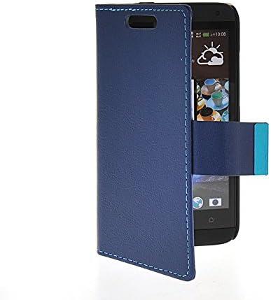 NEWcase Carcasa Funda Caso Cuero Tapa Cartera Case Cover Para HTC Desire 601 Zara zafiro: Amazon.es: Electrónica