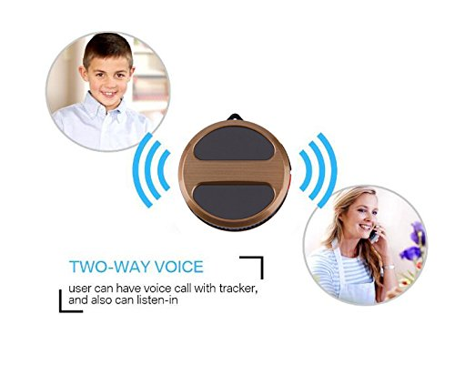 Personal Mini Micro GPS Tracker Locator for Kids Chidren Pets Cats Dogs  Vehicle Motorcycles with Google Maps SOS Alarm GSM GPRS Trackers T8 - Pets