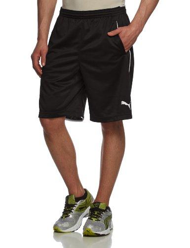 PUMA Kinder Hose Training Shorts, black, 140, 653739 03