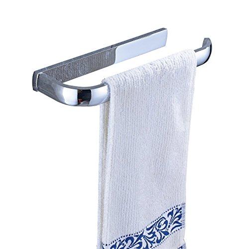 Rozin Wall Mounted Bathroom Towel Bar Chrome Towel Hanger