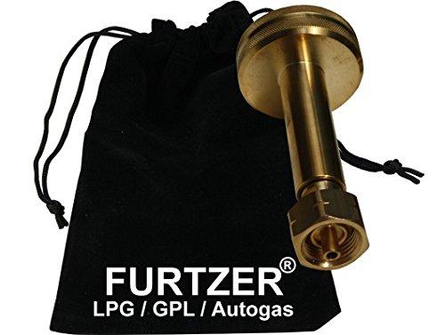 Furtzer® LPG GPL GNV Autogas Adaptateur de réservoir Dish Bouteilles de Gaz Propane Long avec Sac en Tissu Furtzer®