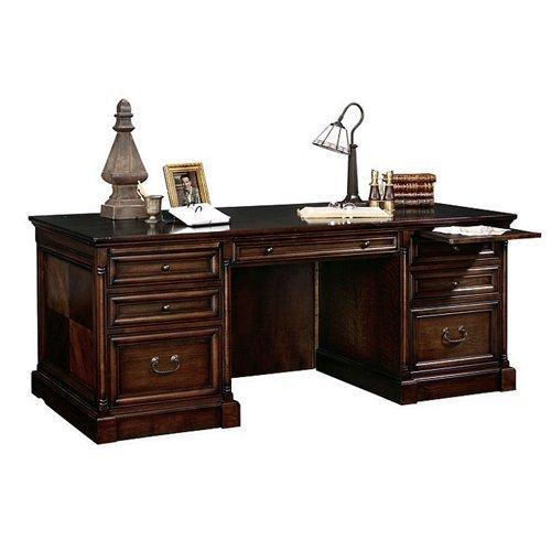 Grove Laptop / Writing Desk in Terra by Martin Home Furnishings