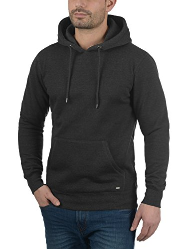 Sweat Pull Melange Capuche Hoodie Pour solid À Dark Polaire Bert Grey Doublure 8288 Homme aw5nqR