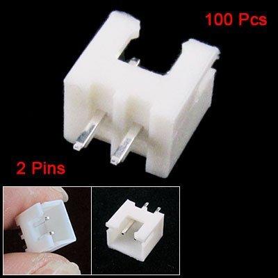 eDealMax 100 piezas de 1, 9 mm Presión Paso 2 White Pole soldadura Conectores Bar - - Amazon.com