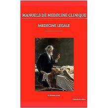 Médecine légale (Manuels de Médecine Clinique) (French Edition)