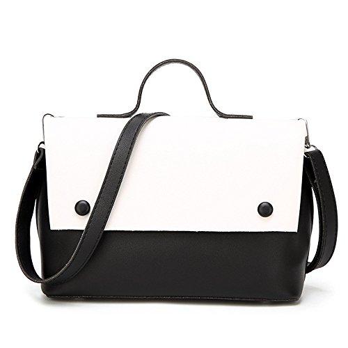 Main Sac GWQGZ White À Main À Sac Généreux Simple Nouveau Mode Couture Simple Rose Et qUxr67tU