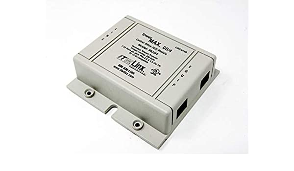 ITW LINX Surge protector MCO4x4 telephone line protector Requires Base unit