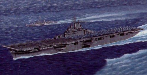 Trumpeter 5602 -  Aircraft Carrier U.S.S.Essex CV-9