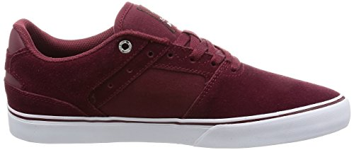Chaussure Emerica The Reynolds Low Vulc Rouge-Blanc-Gum