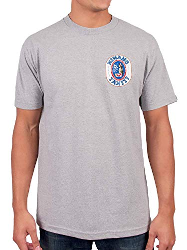 Hinano Oval Logo Tee (Small, Athletic Heather)