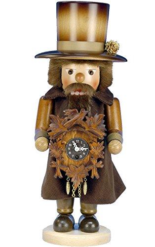Christian Ulbricht Alexander Taron Importer 0-763 Nutcracker - Clockmaker with Key-wound Clock - 17'''' H x 6.5'''' W x 6.5'''' D by Christian Ulbricht