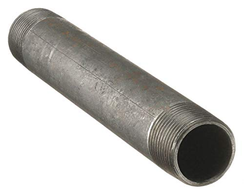 "ZORO SELECT 1XAR1 1//4/"" MNPT x 6/"" TBE Stainless Steel Pipe Nipple Sch 40"