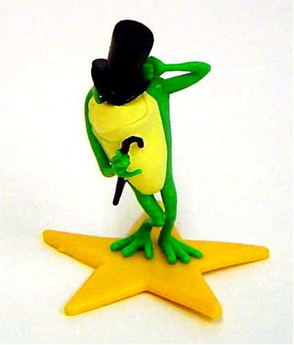 Michigan J. Frog on a Star PVC Figure