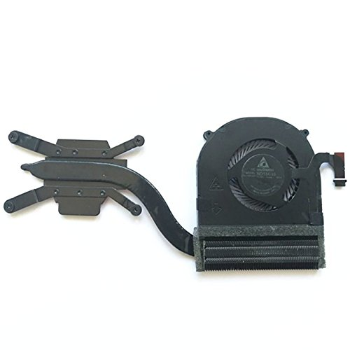 QUETTERLEE New Replacement for Lenovo Thinkpad Yoga X1 Carbon 4th 2016 20FB 20FC Series Laptop CPU Fan + Heatsink 01AX830 ND55C33 01AW976 00JT800 Fan