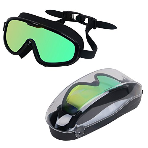83d5d820563 KTdream Swimming Goggle Super Great Frame Swim Goggle for Adult Men Women  Youth Swim Mask Clear Wide Vision Anti Fog UV Protection No Leaking Easy to  Adjust ...