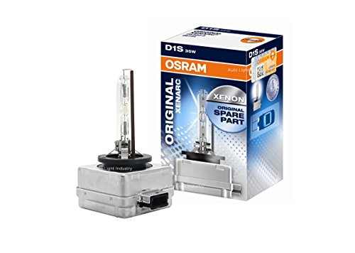 OSRAM XENARC D1S HID/XENON Headlight bulb (66144) - Pack of 1