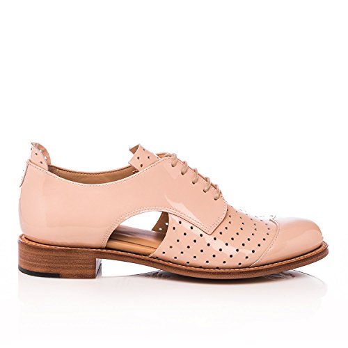 Lufficio Di Angela Scott Mr. Muffin Nude Patent Ritaglio Oxford Nude Patent