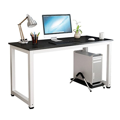 Simple Modern Office Desk Portable Computer Desk Home: Gootrades Computer Table,47'' Sturdy Office Desk Study