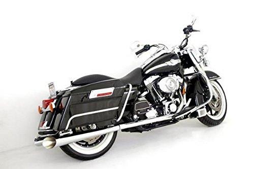 (Samson Exhaust Mufflers Silver Bullet Megaphone for Harley)