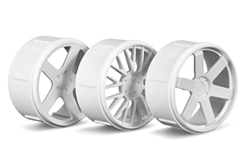 Wheel Set (White)(Micro RS4) - Hpi Micro Rs4