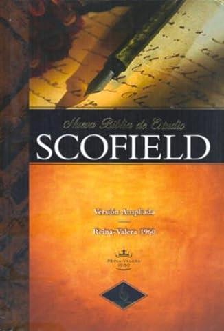 RVR 1960 New Scofield Study Bible, Printed Hardcover (Spanish (Indice Sistema)