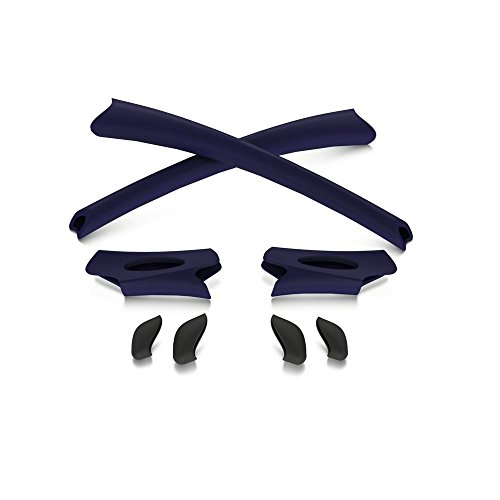 Oakley Flak Jacket Earsocks / Nosepads Kit Navy Blue