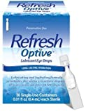 Refresh Optive Sensitive Preservative-free Lubricant Eye Drops 30 Ea (Pack of 3) by Refresh Optive