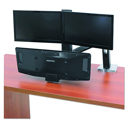 Ergotron WorkFit-A with Suspended Keyboard, Dual
