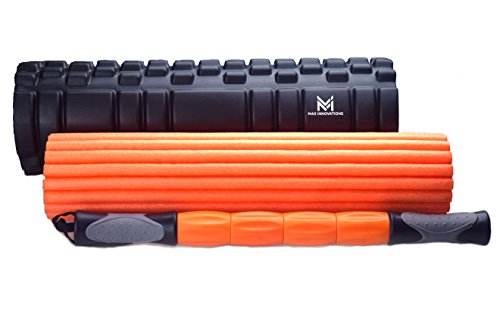 3 in 1 Foam Roller, muscle roller, yoga, gym, pilates, exercise, fitness, massage, home, stretch, pain relief