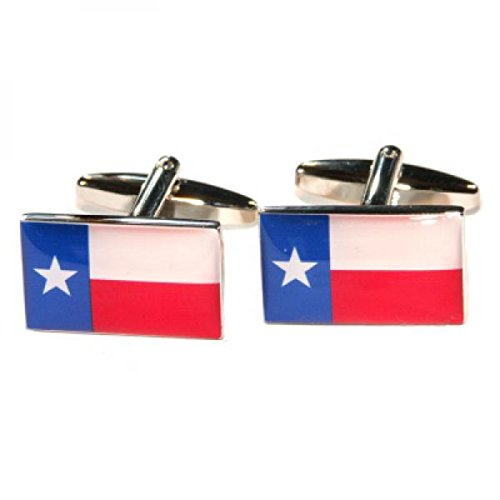 Gtr Men's Cufflinks X2Bocfus43 Texas State Flag One Size
