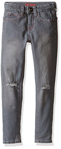 Kensie girls Denim Jean (More Styles Available), 2693 Grey, 14 by kensie