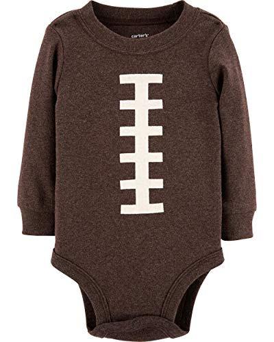- Carter's Baby Boy's Thanksgiving Football Long Sleeve Bodysuit (12 Months)