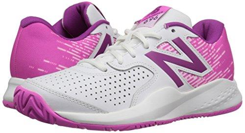 Femmes Rose New Chaussures Multicolore Balance De Tennis Pour 696v3 blanc n7ZwY7qAz