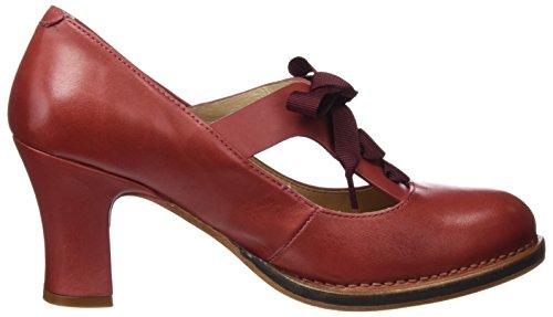 Neosens S296 Restored Skin Geranium Baladi, Chaussures à Talon avec Bout Fermé Femme Rouge (Geranium)