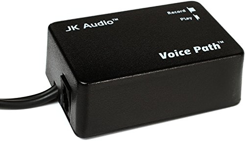 JK Audio Voice Path Telephone Handset Audio Tap for Phone Conversation Recording to Computer Cards
