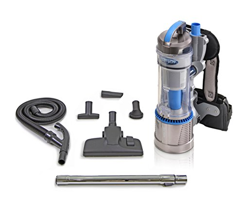 bagless backpack vacuum cleaner - 6