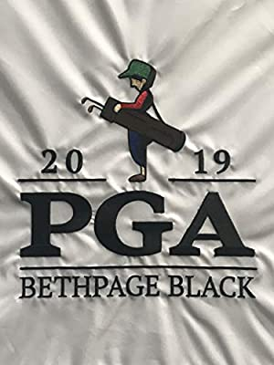 2019 Pga Championship flag bethpage black golf embroidered white pin flag
