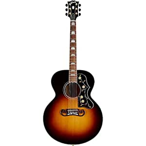 gibson j 200 standard acoustic electric guitar vintage sunburst musical instruments. Black Bedroom Furniture Sets. Home Design Ideas