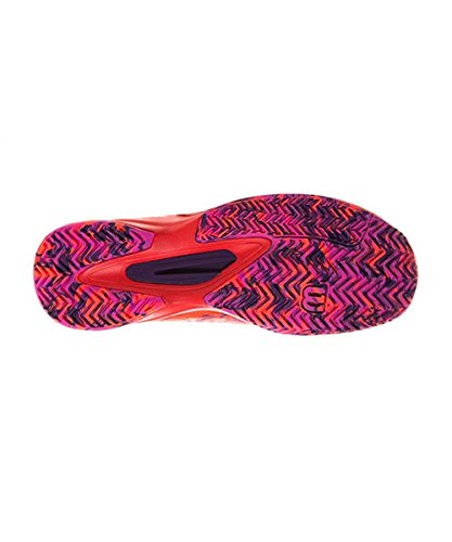 fiery Violet Red Femme fiery 39 Orange rose Wilson Eu De Coral Tennis Wrs322510e055 Chaussures qPzf8P