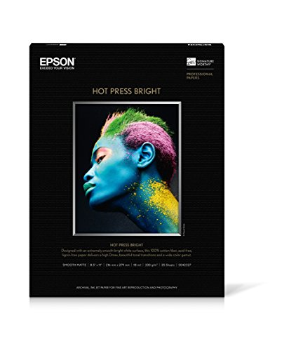 (EPSS042327 - Epson Hot Press Bright Fine Art Paper)