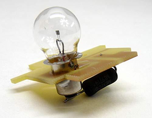 1 Pack - Replacement for 33-33-07 6.7 Volt 10 Watt Incandescent Bulb
