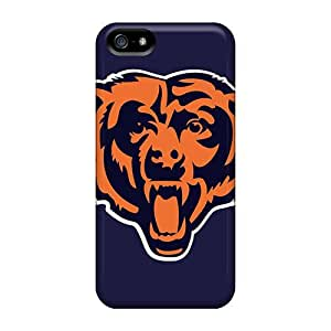 Cute Tpu Hotcat Chicago Bears Case Cover For Iphone 5/5s