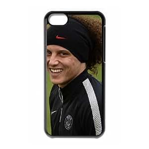 David Luiz iPhone 5c Cell Phone Case Black E1309592